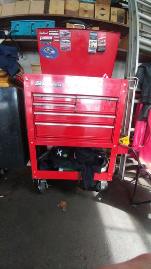 Snap on tool box and tools for Sale in Forest Hill, MD