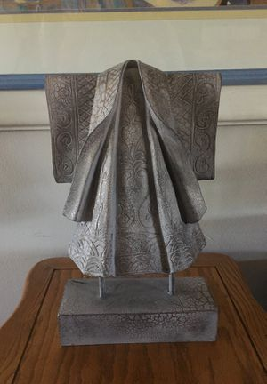 """Home decor coat on stand up 14"""" tall for Sale in Huntington Beach, CA"""