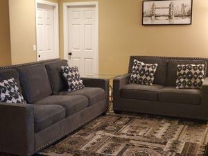 GREY ASHLEY SOFAS for Sale in Etiwanda, CA