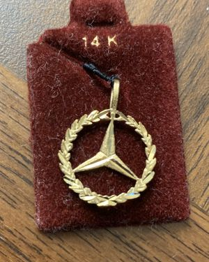 mercedes-benz 14k Gold Charm or pendent for Sale in South San Francisco, CA