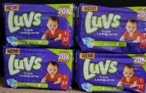 Luvs size 1 bundle for Sale in Glendora, CA