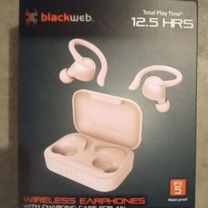 Black web Bluetooth Earbuds- for Sale in Glendale, AZ