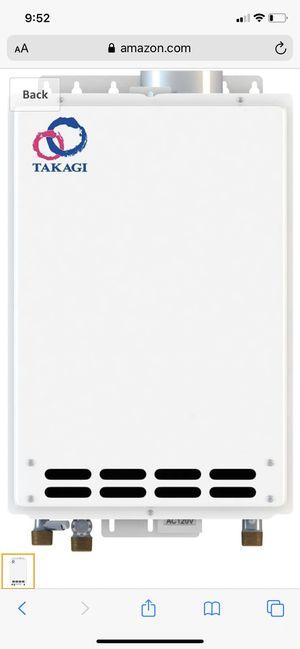 Takagi tankless water heater for Sale in Alpharetta, GA