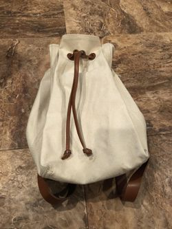 Madewell Canvas + Leather backpack (repair needed) for Sale in Falls Church,  VA