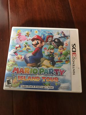 Mario party island tour for Nintendo 3ds for Sale in Ruskin, FL