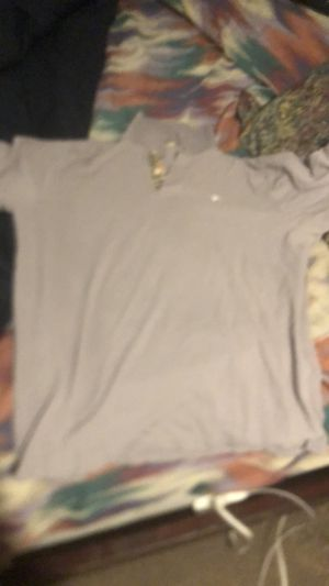 Grey Burberry polo for Sale in Monee, IL
