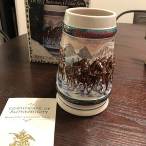 Budweiser 1993 Holiday Stein for Sale in Downey, CA