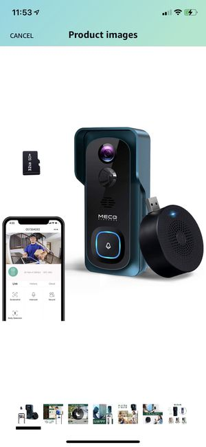 【2020 New】 WiFi Video Doorbell Camera for Sale in Jersey City, NJ