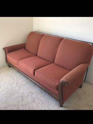 Rustic brick Red sofa for Sale in National City, CA