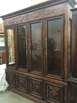 Antique china hutch for Sale in Snohomish, WA