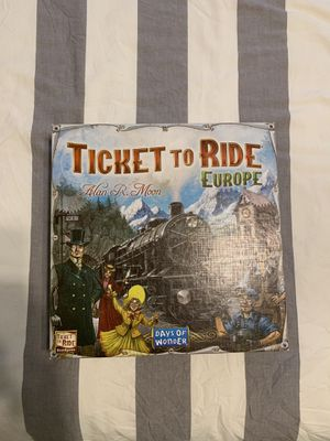 Ticket to ride Europe for Sale in Mesa, AZ