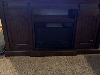 "Electric Fireplace/ 72"" Tv Stand for Sale in Orting,  WA"