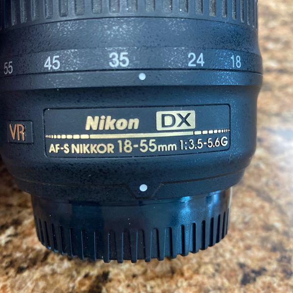 NIKON 18-55mm CAMERA LENS *13528*
