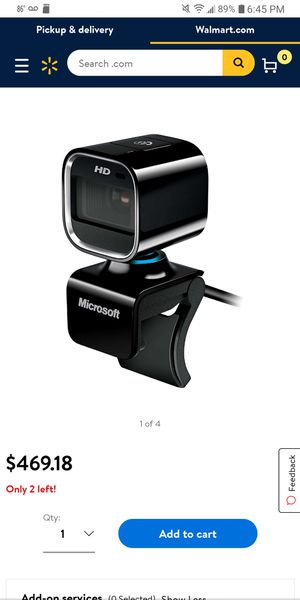 Microsoft lifecam HD 6000 for Notebook for Sale in Auburndale, FL
