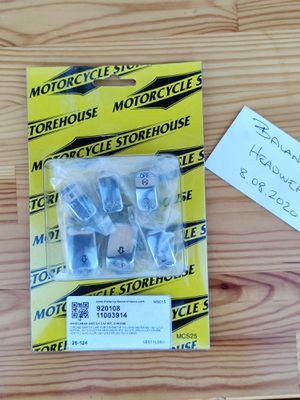 MCS HANDLEBAR SWITCH CAP KIT, CHROME #920108 for Sale in Fort Lauderdale, FL