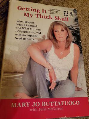 Mary Jo Buttafuoco book for Sale in Tampa, FL