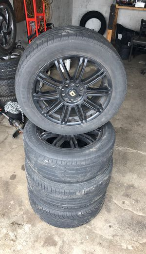 17 inch rims and tires for Sale in Columbus, OH