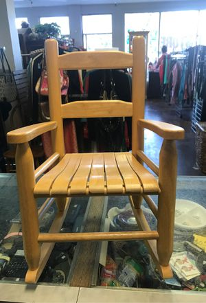 Super Cute Child Rocking Chair Wood for Sale in Los Angeles, CA