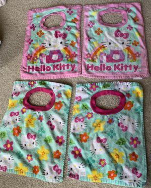 4 Hello kitty bibs cotton for Sale in Centreville, VA