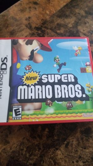 New super mario Brothers for Nintendo DS for Sale in San Diego, CA