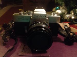 Minolta Srt-202 35mm Camera with 50mm lens for Sale in Parma, OH
