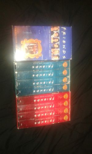 Friends VHS complete 1st, 2nd, 3rd Seasons for Sale in Knoxville, TN