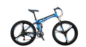 Free G6 Folding Bike Mountain Bike 26 inch Blue for Sale in Philadelphia, PA