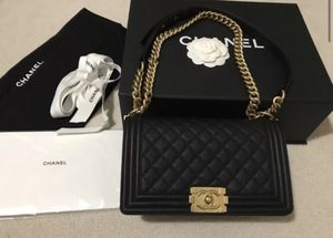 Chanel boy bag new medium with gold hardware for Sale in Boston, MA