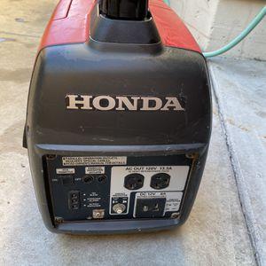 Honda EU 2000i Generator + EU 2000i Companion Generator for Sale in Los Angeles, CA