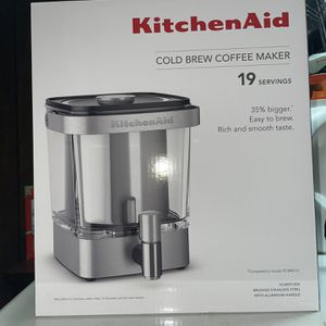 Kitchen Aid Cold Brew Coffee Maker for Sale in Baltimore, MD
