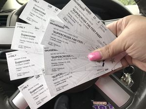 4 Supercross AND 4 Fanfest Tickets - AT&T Stadium - Saturday, 2/22/20 for Sale in Lewisville, TX