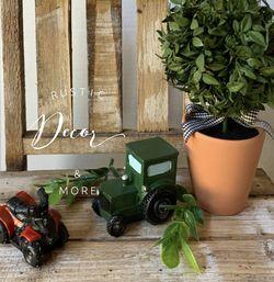 Farmhouse Mini Garden ATV & Tractor Set for Sale in Tampa,  FL