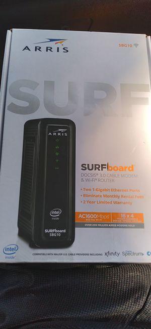 Arris surfboard modem for Sale in Lake Worth, FL