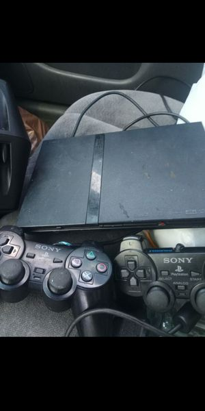 Ps2 slim two controllers for Sale in El Monte, CA