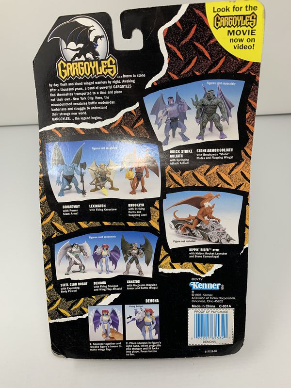 Demona of the Hit Animated TV Series Gargoyles (Brand New/Card Bent)