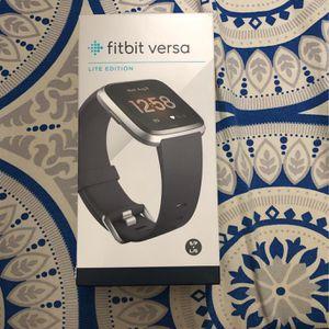 Fitbit Versa Lite Edition for Sale in Sacramento, CA