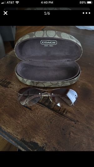Authentic COACH sunglasses for Sale in Glenview, IL