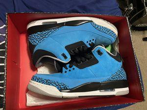 Jordan Powder blue retro 3s for Sale in Livonia, MI