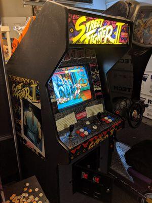 Cash or trade. Full size original Street fighter 2 arcade for Sale in Riverside, CA