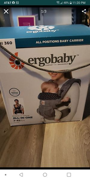 Ergobaby all positions baby carrier, all in one. for Sale in North Las Vegas, NV