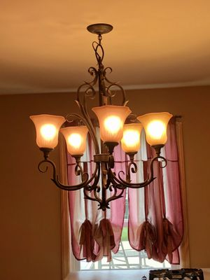 Chandelier light fixture. for Sale in Sewell, NJ