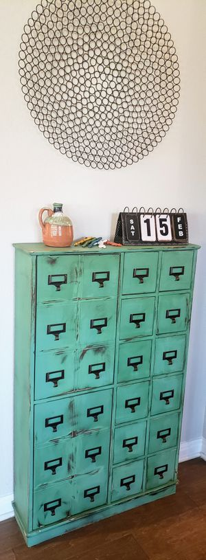 Apothecary Style Storage Cabinet for Sale in Sun City, TX