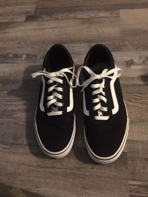 Black and white Vans for Sale in Bethany, OK