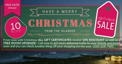 Gift Certificates for Sale in Westport,  WA