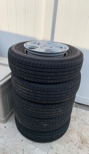 5 Jeep Tires Wrangler JL OEM Factory Wheels New! for Sale in Hollywood, FL