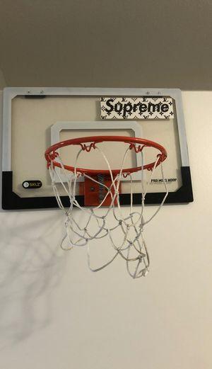 Basketball inside hoop for Sale in Orange, CA
