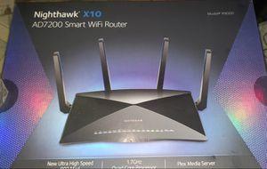 NETGEAR Nighthawk X10 Smart WiFi Router (R9000) for Sale in Chicago, IL