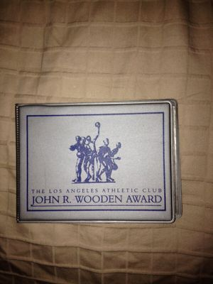 (One of Few) - John R. Wooden Award collectors cards I have had for over 26 years. for Sale in Tacoma, WA