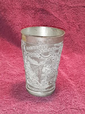 Antique souvenir from Albany Oregon pewter cup for Sale in Mapleton, OR