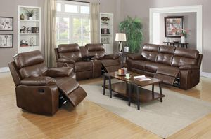 LIVING ROOM TRI-TONE BROWN for Sale in Hialeah, FL